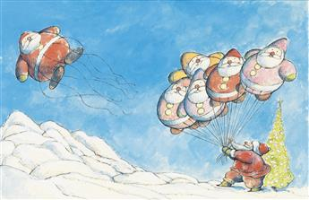 (CHILDRENS) ARNOLD LOBEL. The Balloonman of the North Pole.