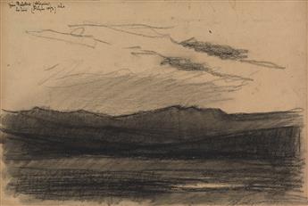 ALBERT LEBOURG (Montfort-sur-Risle 1849-1928 Rouen) An Algerian Landscape.