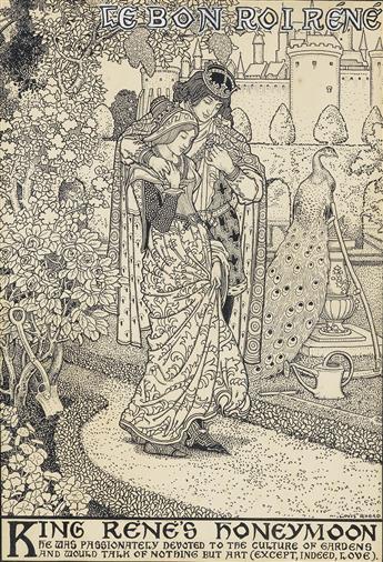 LOUIS RHEAD. Le Bon Roi Réné.