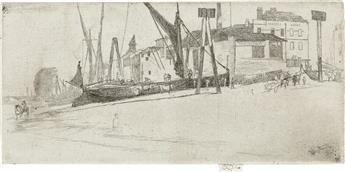 JAMES A. M. WHISTLER Chelsea Wharf.