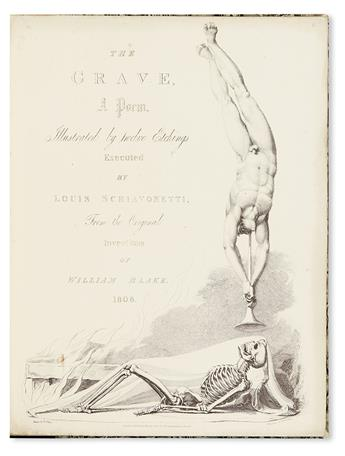 (BLAKE, WILLIAM.) Blair, Robert. The Grave, A Poem.