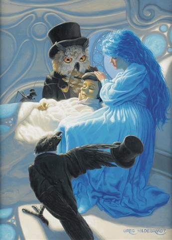 (CHILDRENS) GREG HILDEBRANDT. The Blue Fairy Calls the Doctors.