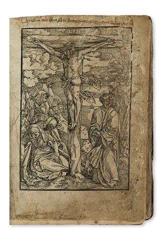 BIBLE IN CZECH.  Biblij Czeska.  1540.  Lacks title, next leaf, and last leaf of table at end.