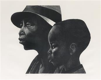 ELIZABETH CATLETT (1915 - 2012) Two Generations.