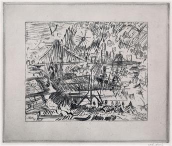 JOHN MARIN Brooklyn Bridge from Brooklyn (The Sun).
