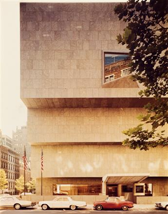 (ARCHITECTURE / MARCEL BREUER.) Archive from a late office of the architectural team of Marcel Breuer and Hamilton Smith.