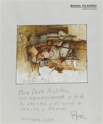(CONTEMPORARY LATIN AMERICAN ART.) Felguérez, Manuel. Constructive Invention.