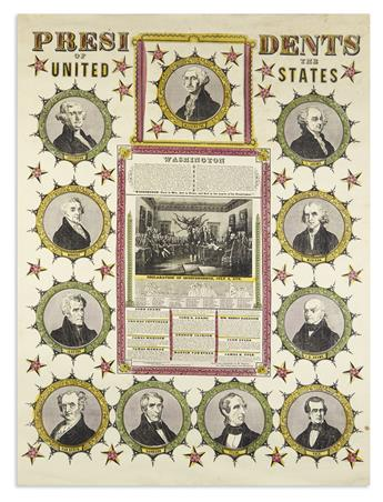 (PRESIDENTS--1846.) Presidents of the United States.