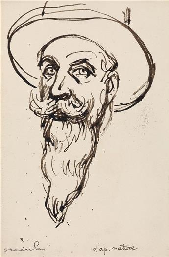 THÉOPHILE-ALEXANDRE STEINLEN (Lausanne 1853-1923 Paris) Three drawings.