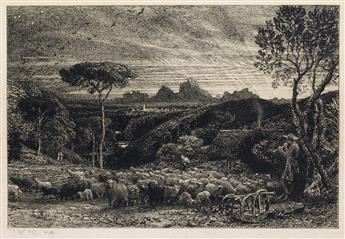 SAMUEL PALMER Opening the Fold (Early Morning).