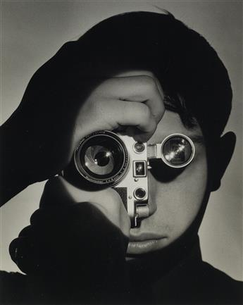 ANDREAS FEININGER (1906-1999) The Photojournalist (Dennis Stock), New York.