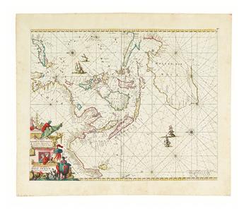 DE WIT, FREDERICK. Orientaliora Indiarum Orientalium cum Insulis Adjacentibus a Promontorio C. Comorin ad Japan.