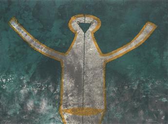 RUFINO TAMAYO Figura de Hombre en Gris.