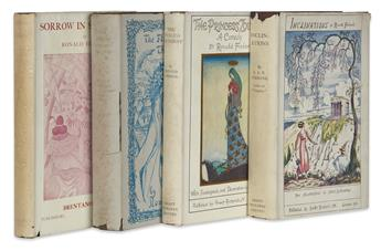 FIRBANK, RONALD Group of 4 First Editions.