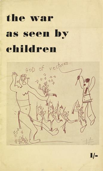 (KOKOSCHKA, OSKAR.) Siebert, J. G. The War as Seen By Children.