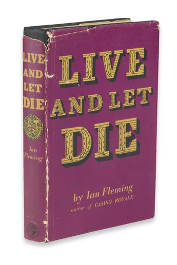 FLEMING, IAN. Live and Let Die.