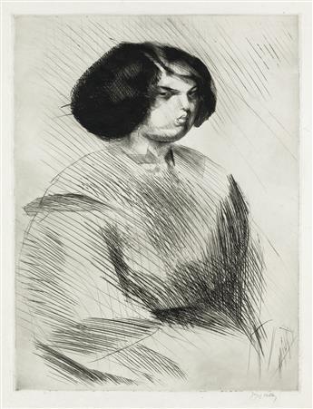 JACQUES VILLON Renée de Trois Quarts.