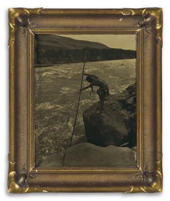 EDWARD S. CURTIS (1868-1952) The Fisherman - Wishham.