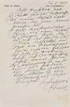 FREUD, SIGMUND. Autograph Letter Signed,