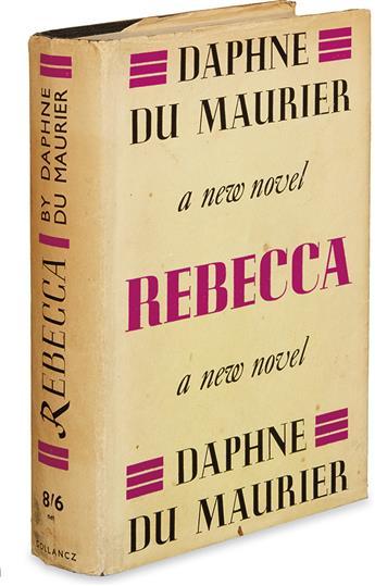 DU MAURIER, DAPHNE. Rebecca.