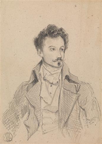 EUGÈNE DEVÉRIA (Paris 1805-1865 Pau) Two drawings.