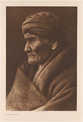 (EDWARD S. CURTIS) (1868-1952) A portfolio entitled The Southwest.