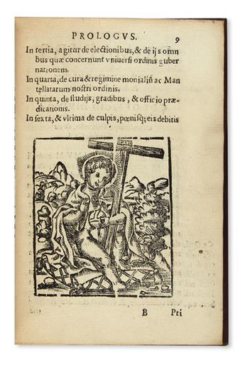 (MEXICAN IMPRINT--1587.) Constitutiones Ordinis Fratrum Eremitarum Sancti Augustini.