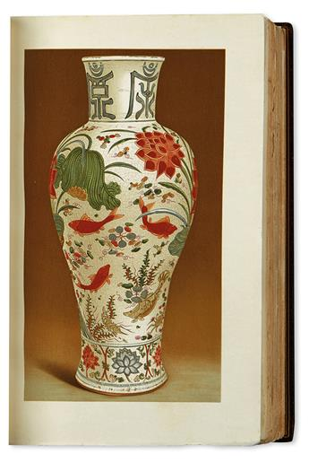 (CHINESE CERAMICS / CHINA.) Morgan, John Pierpont. Catalogue of the Morgan Collection of Chinese Porcelains.