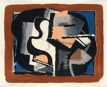 ROBERT BLACKBURN (1913 - 2003) Heavy Forms.