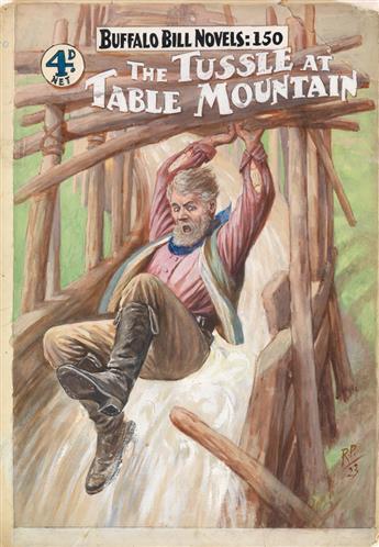 ROBERT PROWSE. Buffalo Bill Novels: The Bandits of Bullet Bar * The Tussle at Table Mountain.