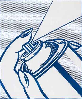 ROY LICHTENSTEIN Spray Can.