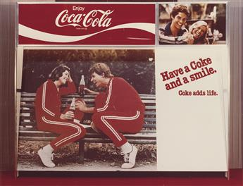 (ADVERTISING & SCIENCE) Group of 17 color prints by an unidentified commercial photographer, comprising 6 of Coca Cola and Pepsi Cola d