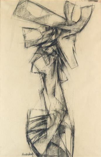 HALE WOODRUFF (1900 - 1980) Cow Woman.