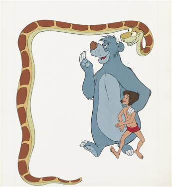 (FILM / ANIMATION)  WALT DISNEY STUDIOS. The Jungle Book.