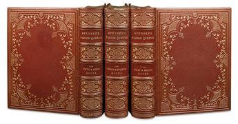 SPENSER, EDMUND. BINDINGS. WALTER CRANE. The Faerie Queene, a Poem in Six Books with the Fragment Mutabilitie.