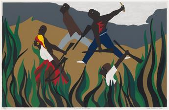 JACOB LAWRENCE (1917 - 2000) To Preserve Their Freedom.