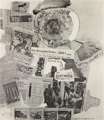 ROBERT RAUSCHENBERG Daytons Gallery 12 Poster.
