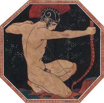 GEORGE BARBIER. The Archer.
