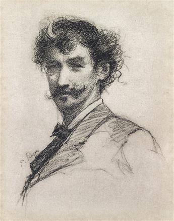 PAUL RAJON Portrait of Whistler.