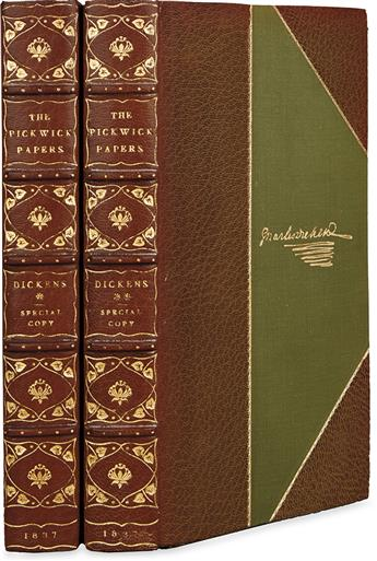 DICKENS, CHARLES. Posthumous Papers of the Pickwick Club.