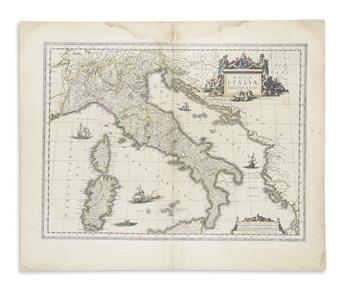 BLAEU, WILLEM. Nova Italiae Delineatio.