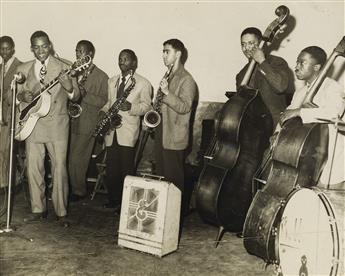 CHARLES TEENIE HARRIS (1908-1998) Swing group, Pittsburgh.