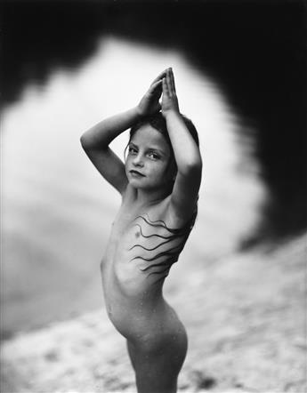 SALLY MANN (1951- ) Virginia at 6.