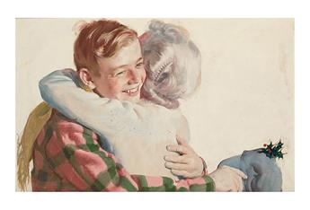 HARRY ANDERSON. Christmas in the Valley.