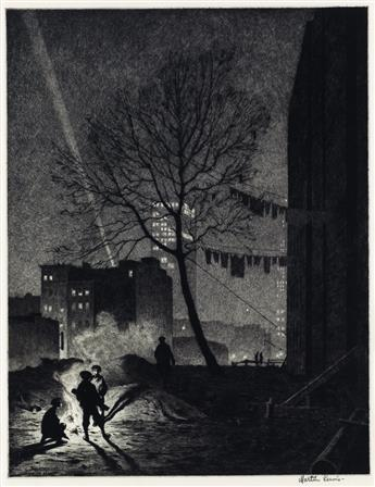 MARTIN LEWIS The Tree, Manhattan.