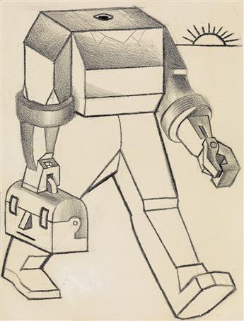 DAVID SUTER. (CARTOON / LABOR) A Robot is After Your Job.