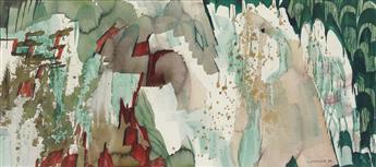 WILLIAM LUMPKINS Watercolor #6.