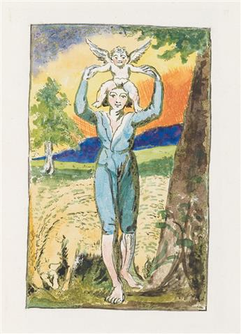 BLAKE, WILLIAM. Songs of Experience by William Blake 1757-1827.