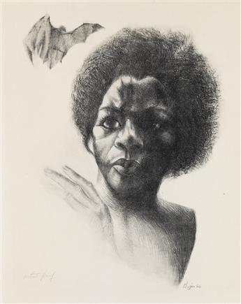 JOHN BIGGERS (1924 - 2001) Untitled.
