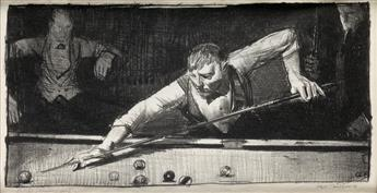GEORGE BELLOWS The Pool-Player.